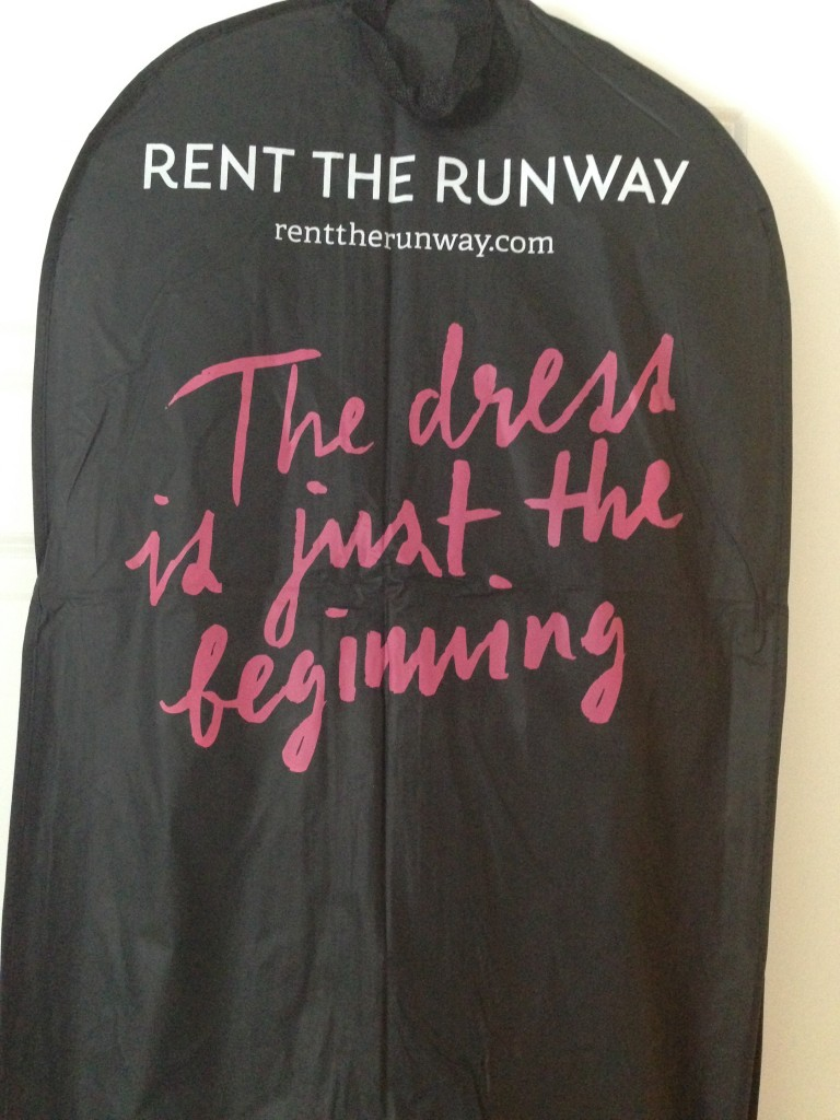 My dress(es) from Rent the Runway arrived Friday night!