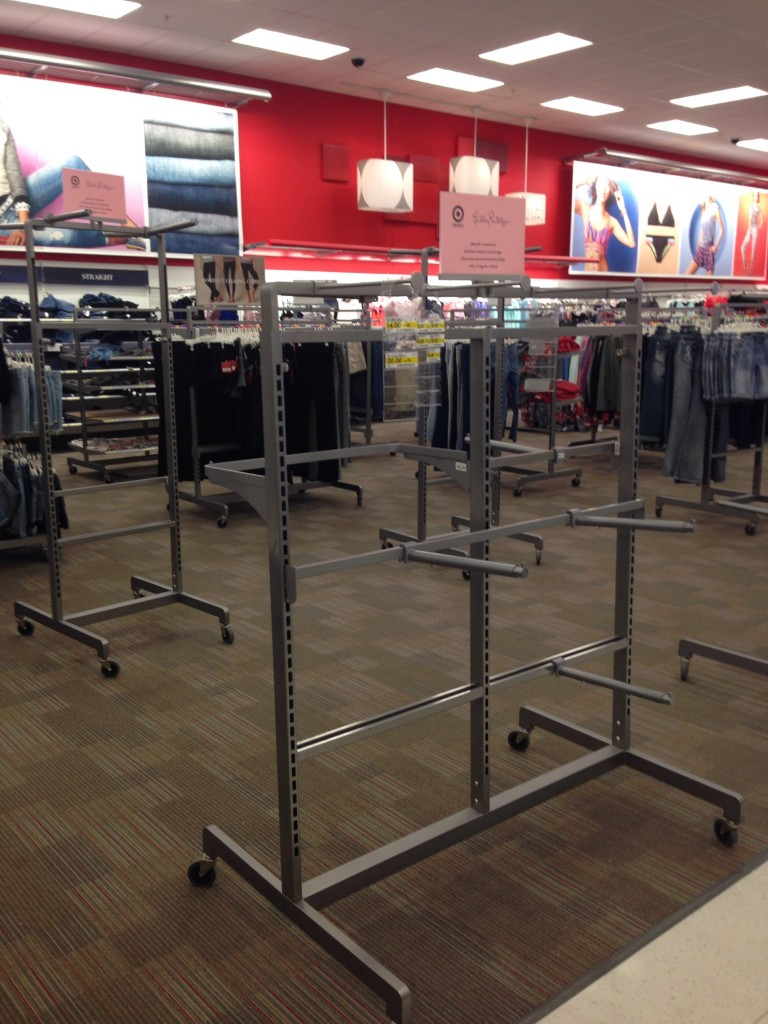 Sad empty racks